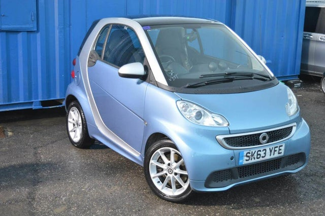 2013 Smart fortwo 1.0 Passion (71bhp) Coupe (63 reg)