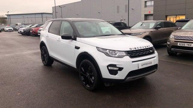 2017 Land Rover Discovery Sport 2.0Td4 HSE Black 2.0TD4 Station Wagon (66 reg)
