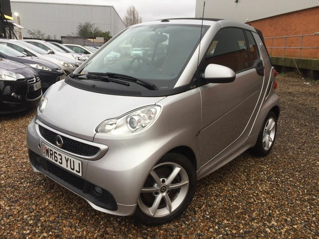 2013 Smart fortwo 1.0 Pulse (71bhp) Cabriolet Softouch (63 reg)
