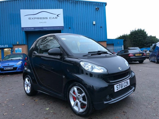 2011 Smart fortwo 0.8TD Pulse Coupe Softouch (61 reg)
