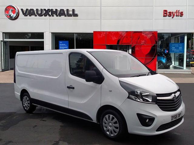 2018 Vauxhall Vivaro (68 reg)