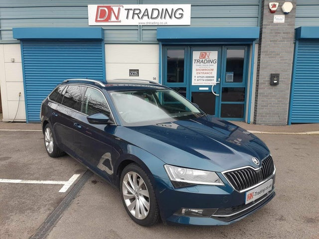 2016 Skoda Superb 2.0TDI SCR SE L Executive (190ps) Estate DSG (66 reg)