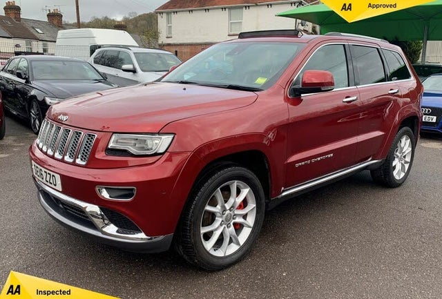 2016 Jeep Grand Cherokee 3.0CRD Summit (16 reg)