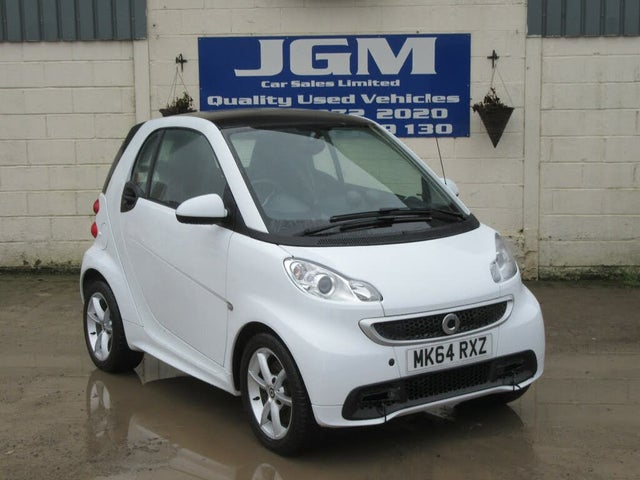 2014 Smart fortwo 1.0 Edition 21 Coupe (64 reg)