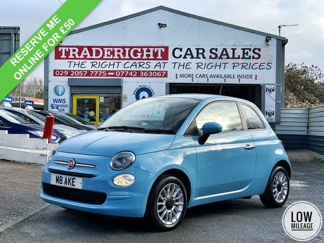 2016 Fiat 500 1.2 POP STAR (AK reg)
