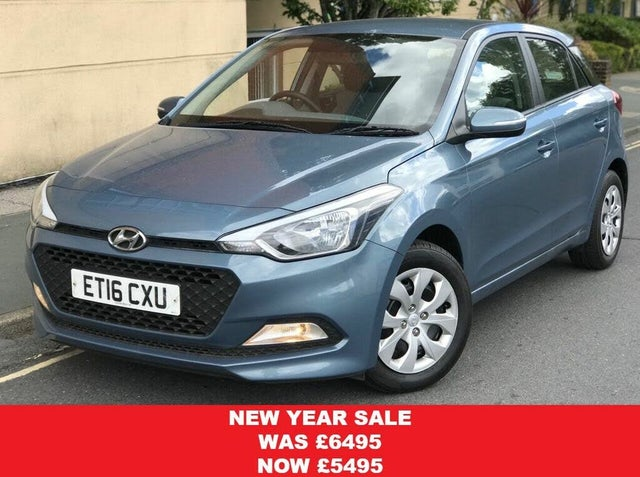 2016 Hyundai i20 1.2 S Air (16 reg)