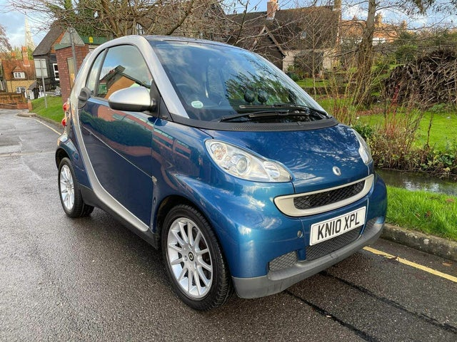2010 Smart fortwo 0.8TD Passion Coupe (10 reg)