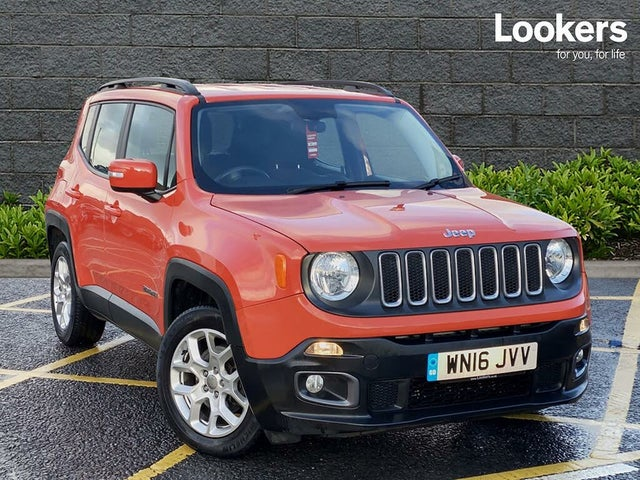 2016 Jeep Renegade 1.4 MultiAir II Longitude (16 reg)
