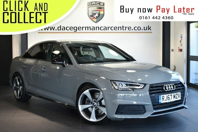 2018 Audi A4 2.0TDI Black Edition (150ps) (67 reg)