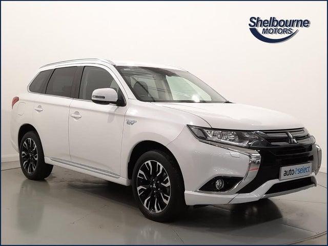 2018 Mitsubishi Outlander 2.0 Juro PHEV (18 reg)