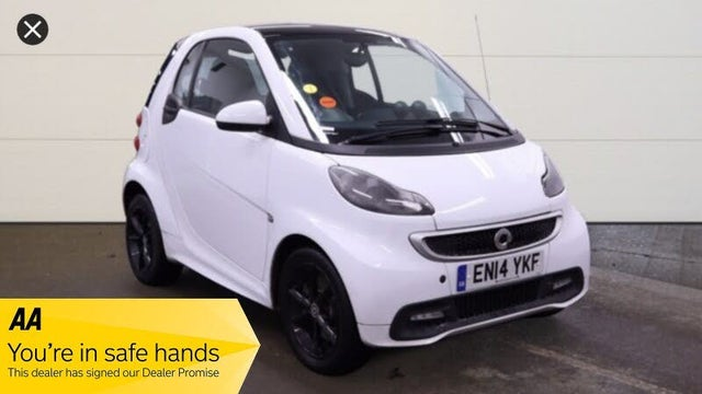 2014 Smart fortwo 1.0 Grandstyle Plus (84bhp) Coupe (14 reg)