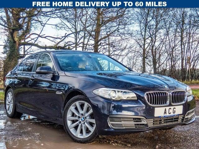 2014 BMW 5 Series 2.0TD 520d SE (184bhp) Saloon 4d Auto (14 reg)