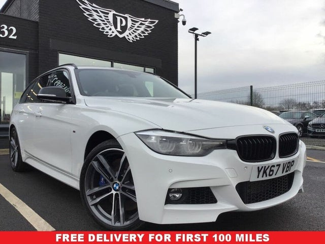2017 BMW 3 Series 3.0TD 335d xDrive M Sport Shadow Edition Touring 5d (67 reg)