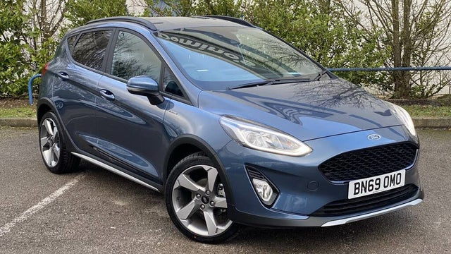 2020 Ford Fiesta 1.0T Active Edition (100ps) Auto (69 reg)