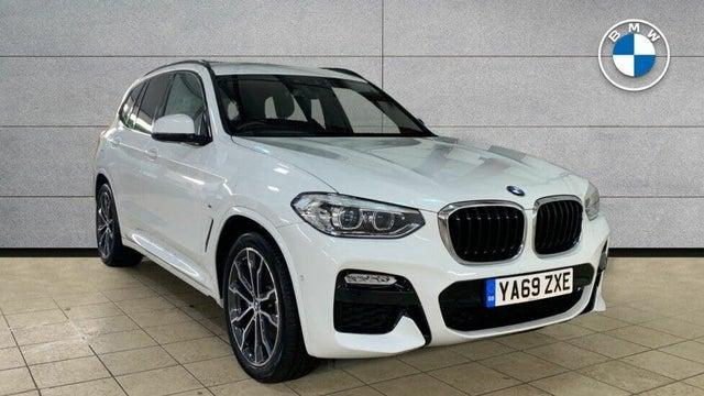 2020 BMW X3 3.0TD xDrive30d M Sport (Plus Pack) (69 reg)