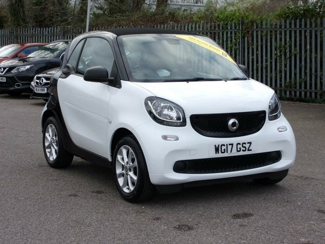 2017 Smart fortwo 1.0 Passion (71bhp) (s/s) Coupe Twinamic (17 reg)