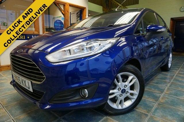 2016 Ford Fiesta 1.0T Zetec (100ps) EcoBoost (s/s) 5d (65 reg)