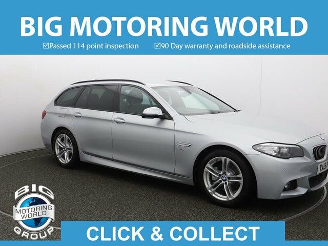2015 BMW 5 Series 2.0TD 520d M Sport (190bhp) Touring 5d Auto (15 reg)