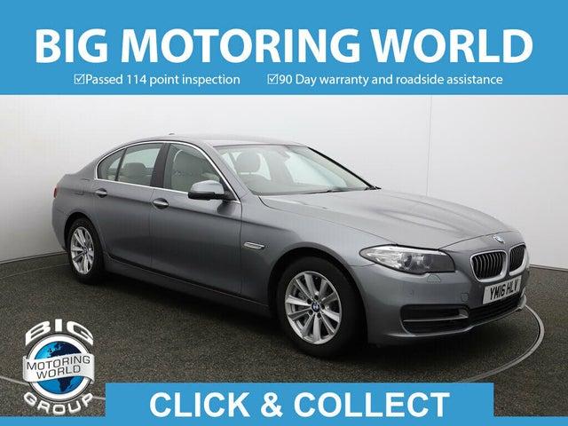 2016 BMW 5 Series 2.0TD 525d SE Saloon 4d Auto (16 reg)