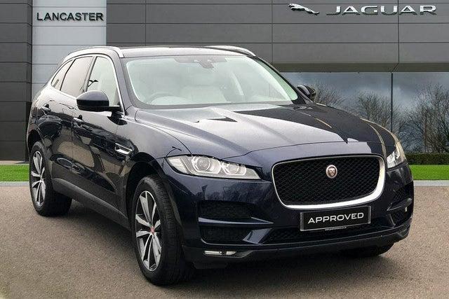 2017 Jaguar F-PACE 2.0 i4D Portfolio (240ps) (AWD) (s/s) Auto (67 reg)