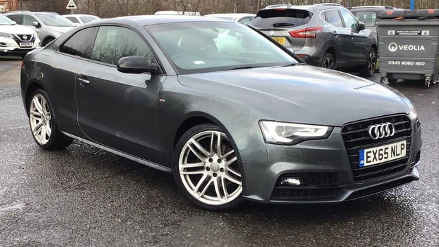 2015 Audi A5 2.0TDI Black Edition PLUS (190ps) (s/s) Coupe 2d (65 reg)