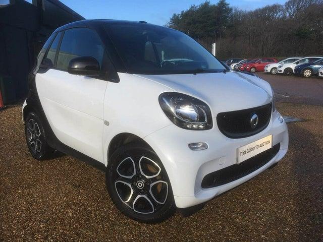 2018 Smart fortwo 1.0 Prime (70bhp) (Premium)(s/s) Cabriolet (19 reg)