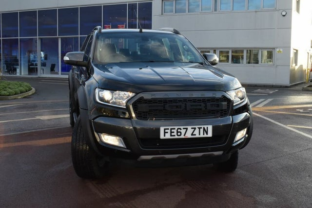 2017 Ford Ranger 3.2TD Wildtrak (200Ps)(EU6) Pick-Up auto (67 reg)