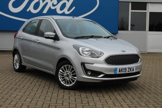 2019 Ford Ka+ 1.2 Ti-VCT Zetec (70ps) (19 reg)
