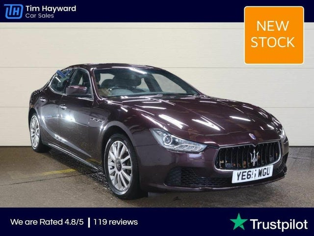 2016 Maserati Ghibli 3.0TD (65 reg)