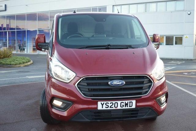 2020 Ford Transit Custom 2.0TDCi 300 L1H1 Limited (130PS)(EU6dT) Panel Van (20 reg)