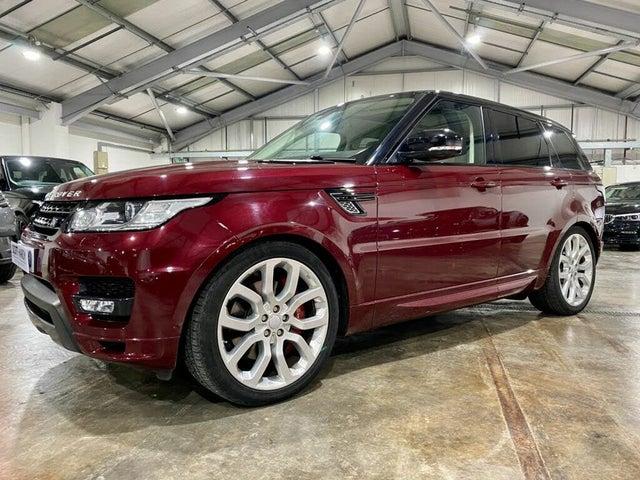 2016 Land Rover Range Rover Sport 4.4 SDV8 Autobiography Dynamic 4.4SD V8 (339bhp) 4X4 Auto (16 reg)