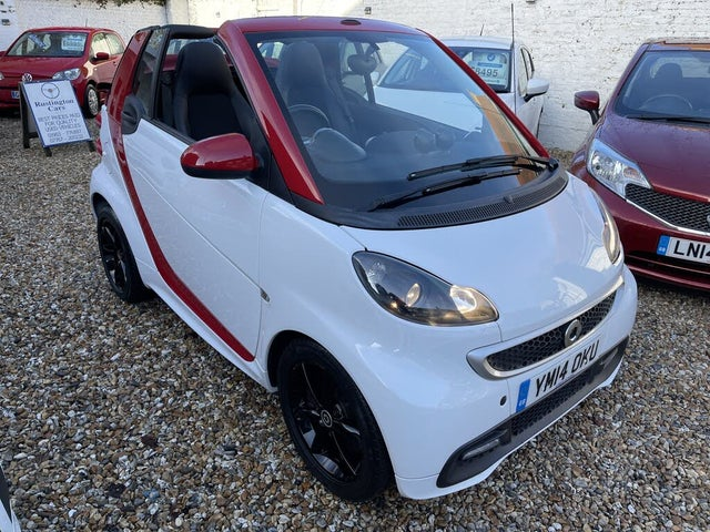 2014 Smart fortwo 1.0 Grandstyle Plus mhd (71bhp) Cabriolet (14 reg)