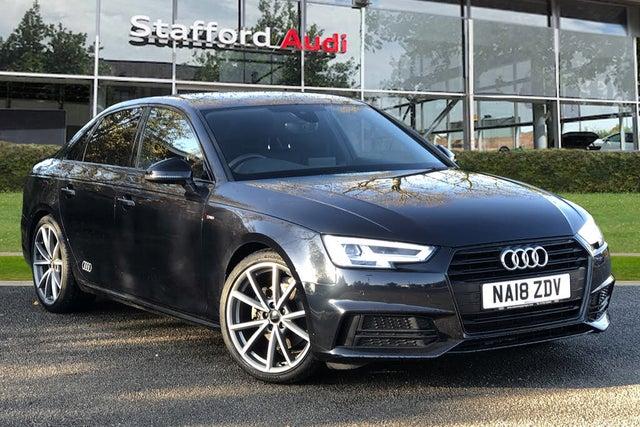 2018 Audi A4 1.4 TFSI Black Edition S Tronic (18 reg)