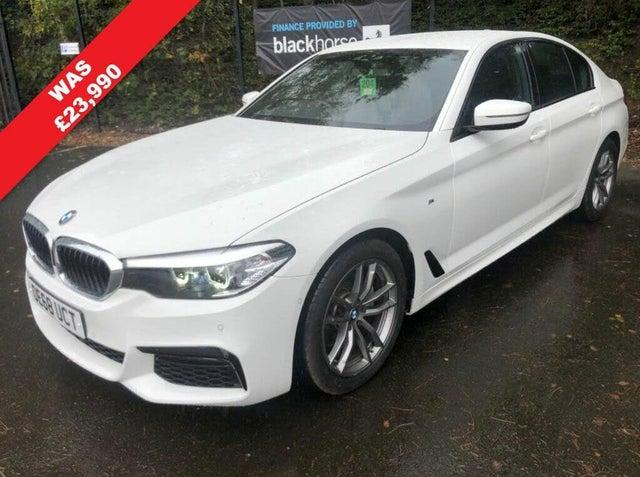 2019 BMW 5 Series 2.0 520i M Sport (Plus Pack)(Tech Pack) Saloon 4d (68 reg)