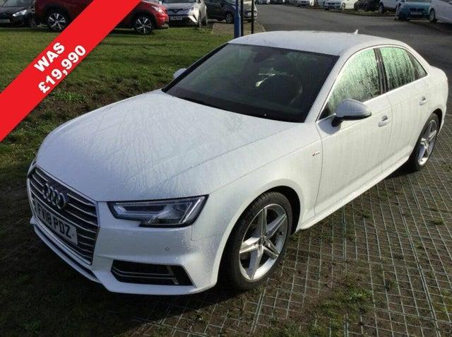 2018 Audi A4 2.0 TFSI S Line (18 reg)