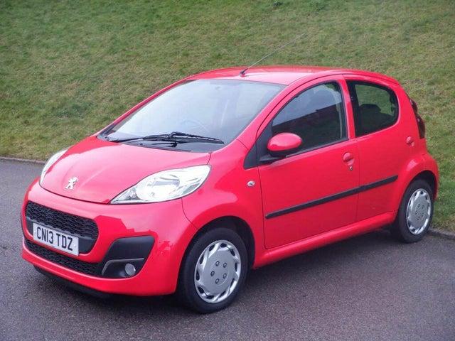 2013 Peugeot 107 1.0 Active 5d Semi-A (13 reg)