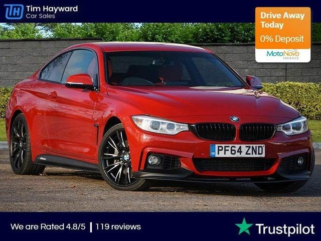 2015 BMW 4 Series 3.0 435i M Sport Coupe 2d Auto (64 reg)