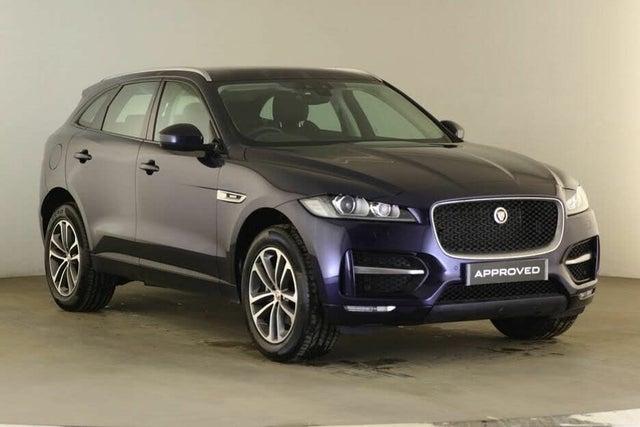 2019 Jaguar F-PACE 2.0 i4D R-Sport (240ps) AWD (s/s) Auto (19 reg)