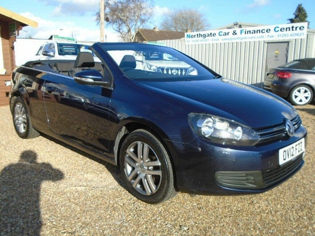 2012 Volkswagen Golf 1.6TD S BlueMotion Tech (s/s) Cabriolet 2d (12 reg)