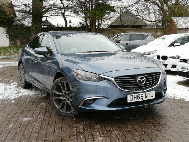 2016 Mazda Mazda6 2.0 Sport (NAV) Saloon 4d (65 reg)