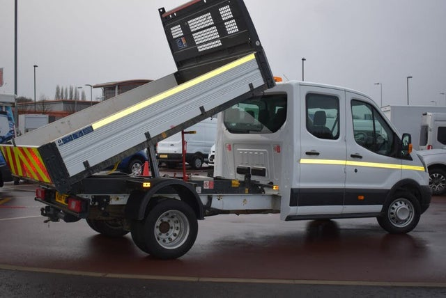 2017 Ford Transit 2.0TDCi 350 L3H1 (130PS)(EU6) RWD SRW Double Cab 1-Way Tipper (68 reg)