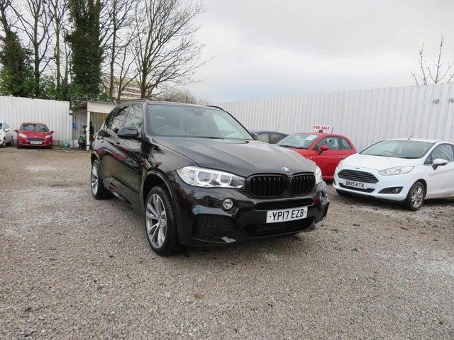 2017 BMW X5 3.0TD xDrive40d M Sport (17 reg)