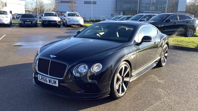 2016 Bentley Continental 4.0 GT V8 S 4X4 Coupe (66 reg)