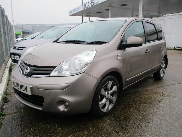 2010 Nissan Note 1.6 N-TEC auto (10 reg)