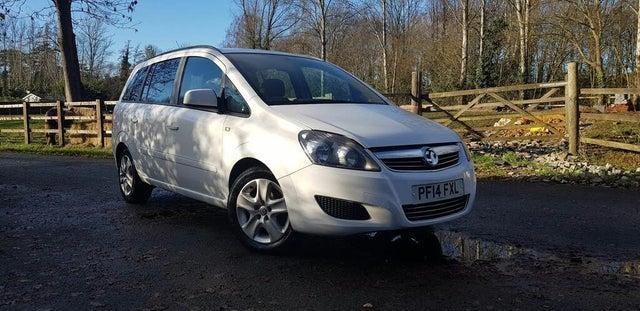 2014 Vauxhall Zafira 1.7TD Exclusiv (110ps) (14 reg)