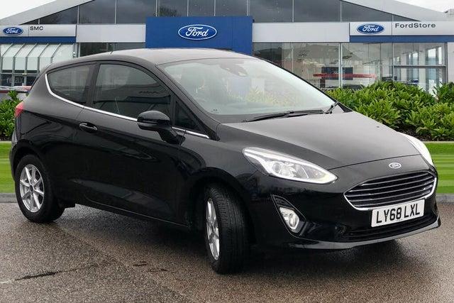 2018 Ford Fiesta (68 reg)