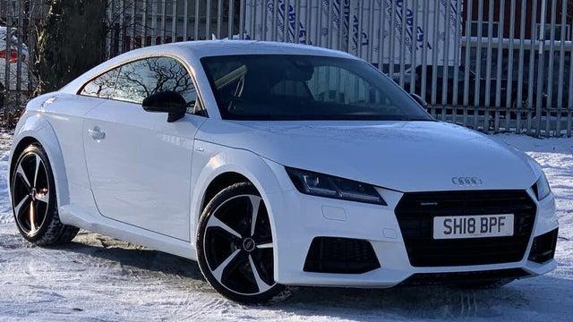 2018 Audi TT Coupe 2.0 TFSI quattro Black Edition (18 reg)