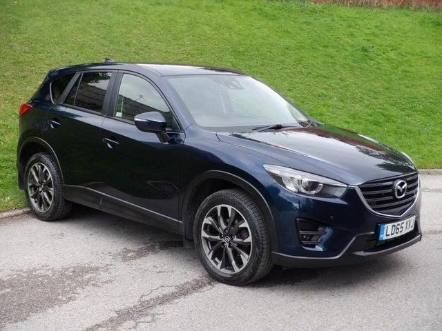 2015 Mazda CX-5 2.2TD Sport (Nav) (175ps) (AWD) Auto (65 reg)