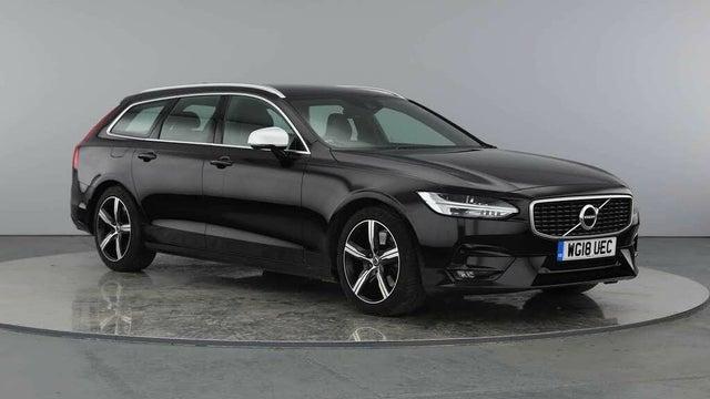 2018 Volvo V90 2.0TD D5 R-Design Pro AWD (18 reg)