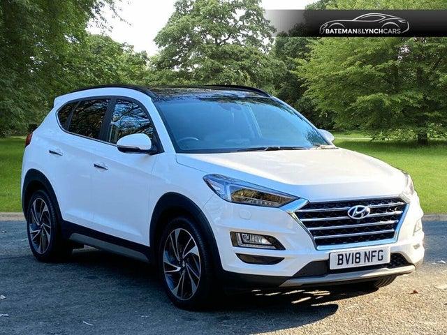 2018 Hyundai Tucson 1.6CRDi Premium SE DCT (18 reg)